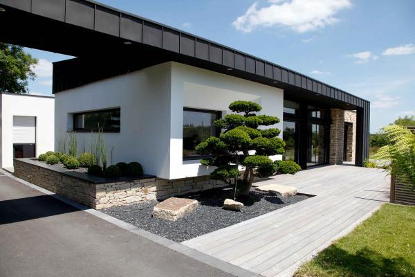 Maison design menuiserie aluminium