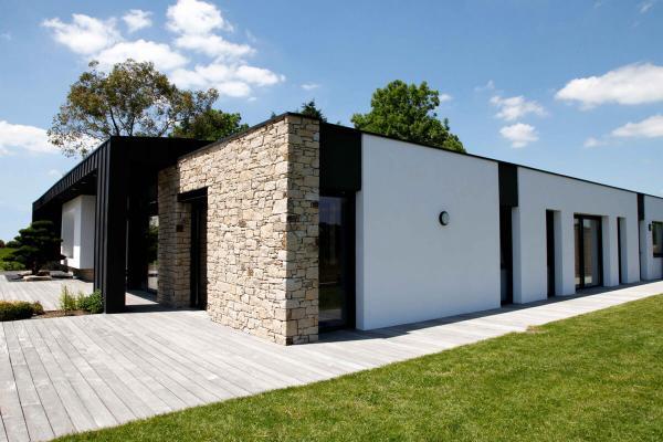 Maison architecte menuiserie